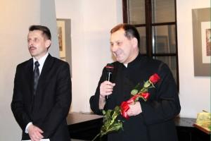 Ks. Jan Edling iStarosta Mirosław Wędrychowicz