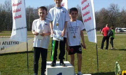 Trzy medale młodych biegaczy zLipinek