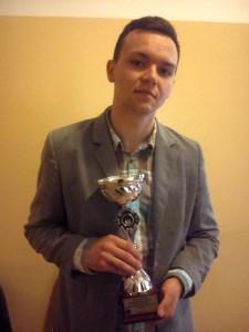 Lekkoatleta Kamil Frączek zLipinek