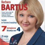Oficjalne wyniki Eurowyborów. Barbara Bartuś nieweszła doParlamentu Europejskiego