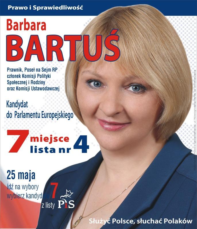 Oficjalne Wyniki Eurowyborów Barbara Bartuś Nie Weszła Do