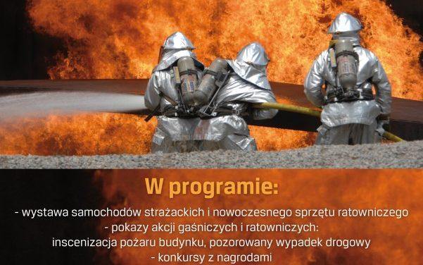 """Manewry strażackie """"Naratunek"""" wLipinkach"""