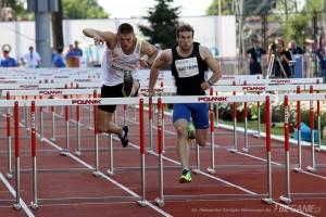 Dominik Bochenek biegnie pozłoty medal - fot.Aleksandra Szmigiel-Wiśniewska