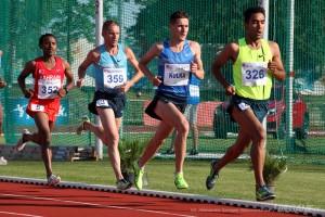 Szymon Kulka walczy oswój najlepszy wynik na5000m - fot.Aleksandra Szmigiel-Wiśniewska