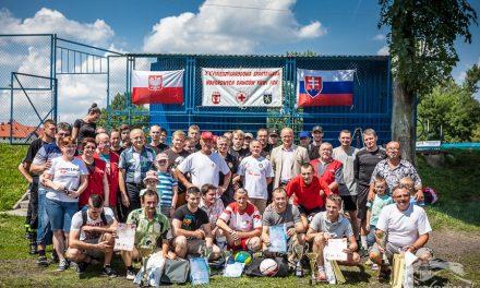 Klub HDK zLipinek napodium XXV Międzynarodowej Spartakiady Krwiodawców wGorlicach