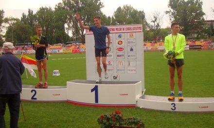 Szymon Kulka młodzieżowym Mistrzem Polski na5000m