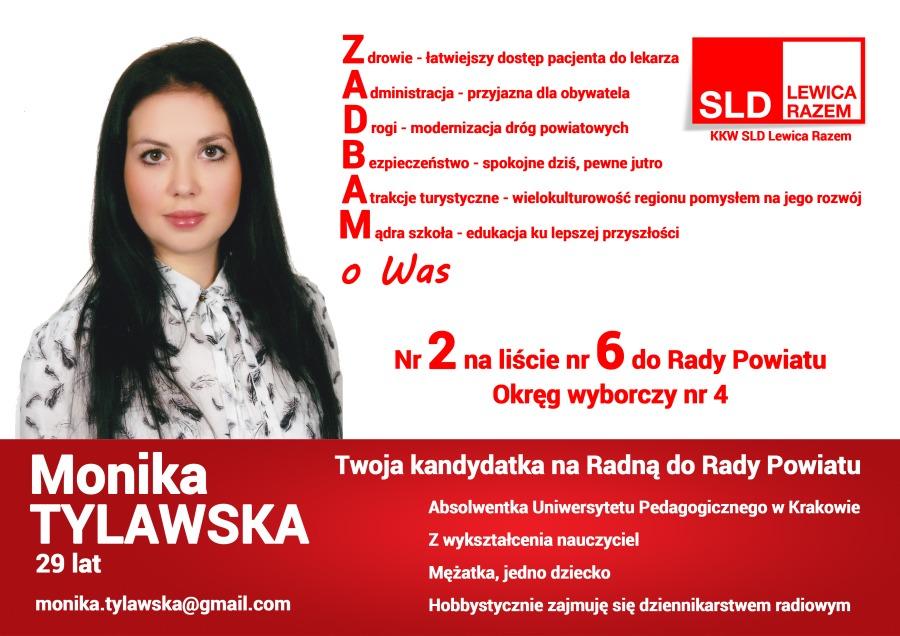 Monika Tylawska Z Rozdziela Kandydatką Sld Do Rady Powiatu