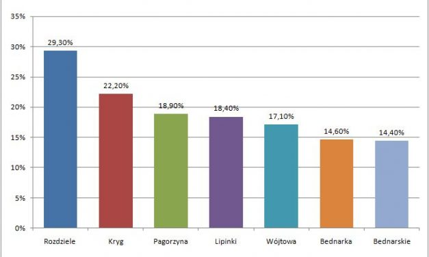 Wybory samorządowe 2014: Najwięcej głosów nieważnych wRozdzielu