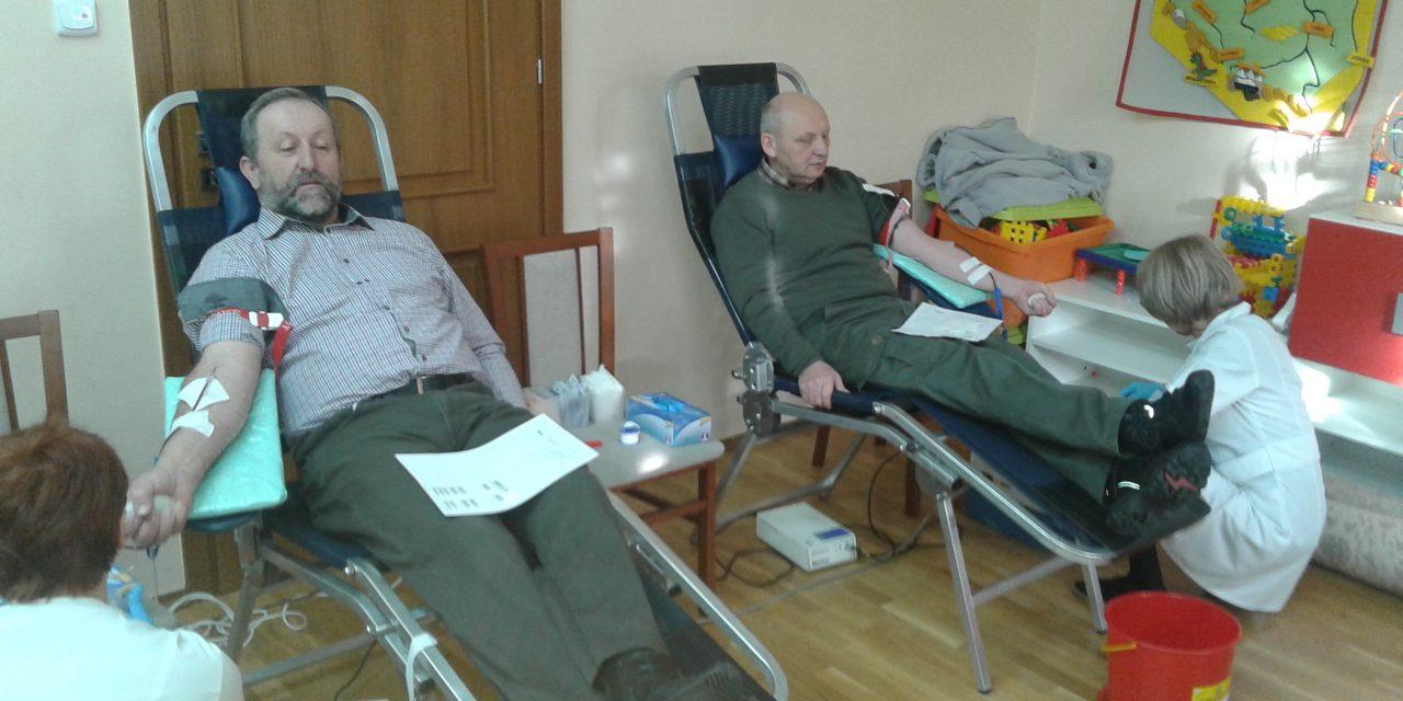 Relacja nażywo zakcji honorowego oddawania krwi