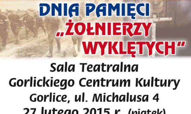 Narodowy Dzień Pamięci Żołnierzy Wyklętych ifinał II Gorlickiego Konkursu Pieśni Patriotycznej
