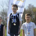 Pięć medali młodych przełajowców wKrakowie