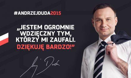 Andrzej Duda zpoparciem 76,4% wyborców gminy Lipinki
