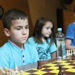 Olaf Przybyłowicz iJakub Brzegowski zwycięzcami Wakacyjnego Turnieju Szachowego wLipinkach