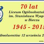70 lat LO wBieczu. Zjazd Absolwentów zgromadzi ponad pół tysiąca gości