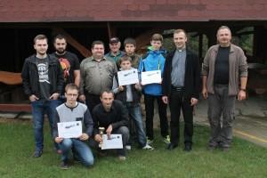 """Uczestnicy III Zawodów Strzeleckich TPZL """"Jastrzębiec"""""""