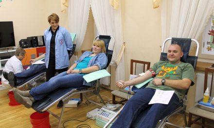 Krwiodawcy Klubu HDK Lipinki oddali ponad 14 litrów krwi