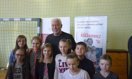 Mistrz olimpijski Władysław Kozakiewicz odwiedził Lipinki