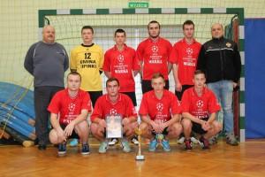 Zwycięska drużyna OSP Kryg