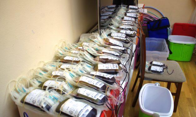 Marcowa akcja Klubu HDK Lipinki przyniosła 18 litrów krwi