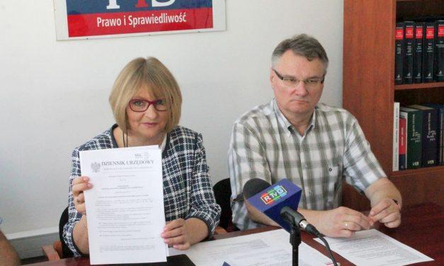 Poseł Barbara Bartuś oszkole muzycznej II stopnia wGorlicach izamkniętej drodze wLibuszy
