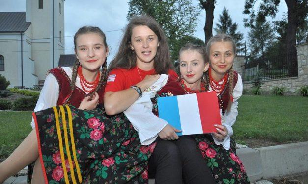 Światowe Dni Młodzieży: Goście zFrancji przyjechali doLipinek!