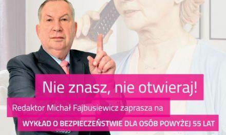 """Michał Fajbusiewicz poprowadzi wGorlicach spotkanie wramach akcji """"Nieznasz, nieotwieraj!"""""""