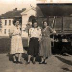 Stare Lipinki: Dwór Byszewskich wlatach 50-tych XX wieku