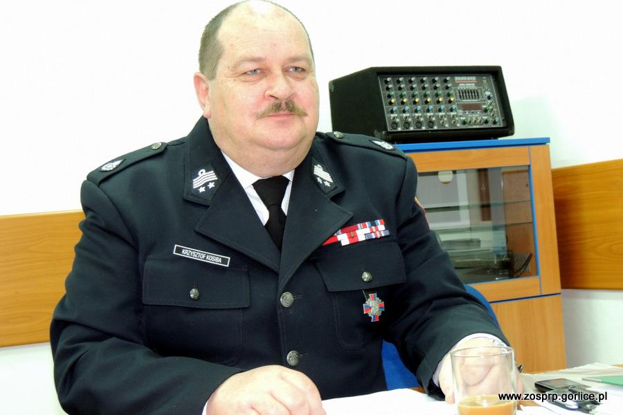 Dh Krzysztof Kosiba Wiceprezesem Zarządu Oddziału Wojewódzkiego ZOSP RP