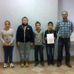 Brązowy medal dla szachistów SP Lipinki