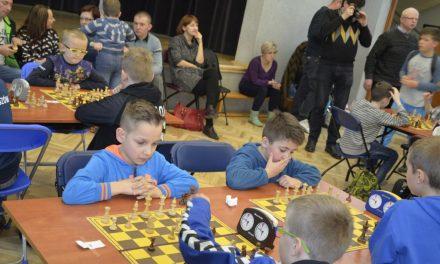 Młodzi lipińscy szachiści zagrali wJaśle