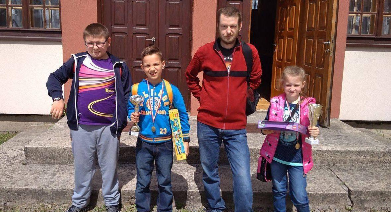Zwycięski turniej młodych szachistów zLipinek