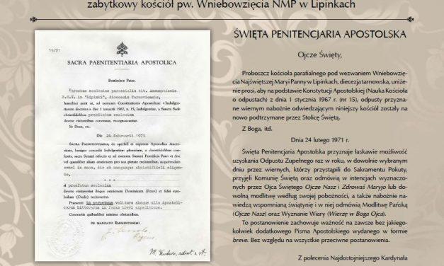 """""""Jastrzębiec"""" ufundował tablicę wzabytkowym kościele wLipinkach"""