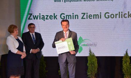 Prestiżowa nagroda dla Związku Gmin Ziemi Gorlickiej