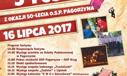 Mamy program Festynu OSP wPagorzynie!