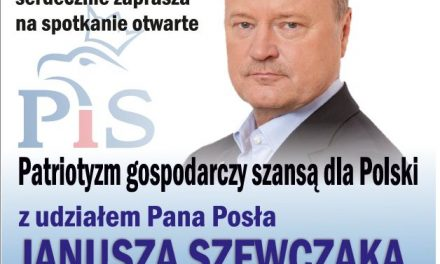 Janusz Szewczak wGorlicach opatriotyzmie gospodarczym