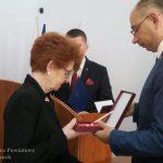 Maria iZygmunt Kmiecikowie zKrygu odznaczeni przezPrezydenta Andrzeja Dudę