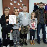 Srebrny medal lipińskiej drużyny szachistów