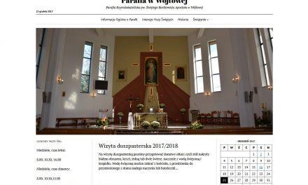 Parafia wWójtowej ma swoją stronę internetową