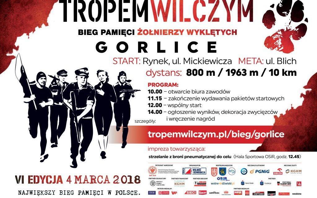 Poseł Elżbieta Zielińska zaprasza naII Bieg Tropem Wilczym wGorlicach