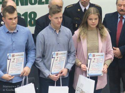 Katarzyna Mika zKrygu zwyciężczynią powiatowego Turnieju Wiedzy Pożarniczej