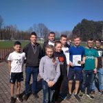 4. miejsce ULKS Lipinki wMistrzostwach Makroregionu wBiegach Przełajowych