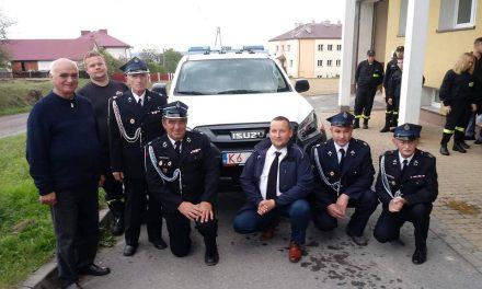 OSP Pagorzyna ma nowy samochód pożarniczy typu SLOP