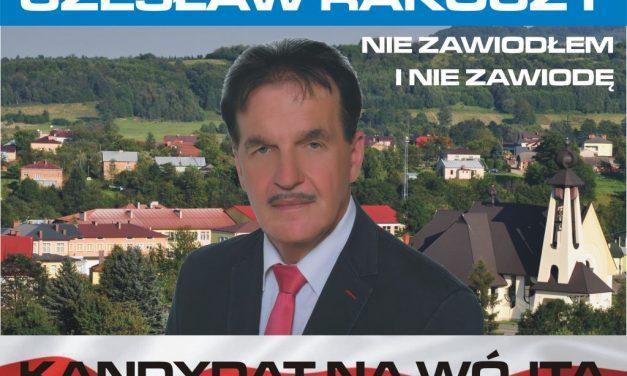 """Wójt Gminy Lipinki Czesław Rakoczy: """"Niezawiodłem iniezawiodę!"""""""