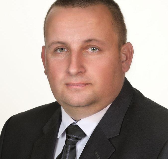 Krzysztof Kozioł. Kandydat zgminy Lipinki doRady Powiatu Gorlickiego