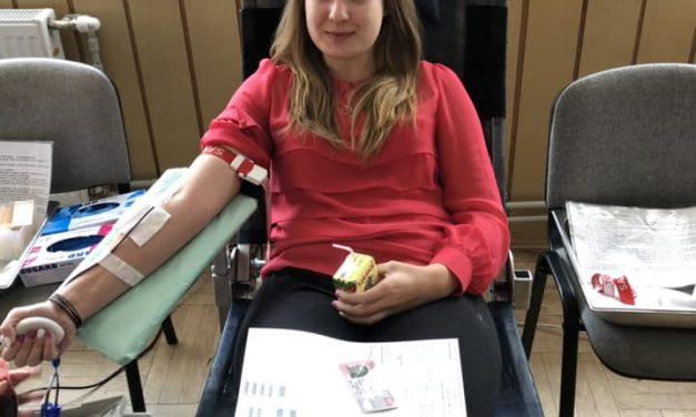 Krwiodawcy Klubu HDK OSP Kryg oddawali krew