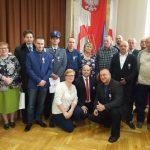 Krwiodawcy zKlubu HDK PCK Lipinki wgronie Zasłużonych dla Zdrowia Narodu