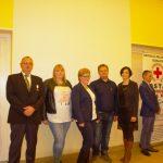 Czworo krwiodawców Klubu HDK PCK Lipinki odebrało wGorlicach zaszczytne wyróżnienia