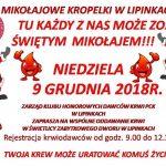 Mikołajowe kropelki wLipinkach, czyli grudniowa akcja oddawania krwi