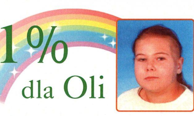 1% dla chorej Oli zWójtowej. Pomóż spełnić marzenia!