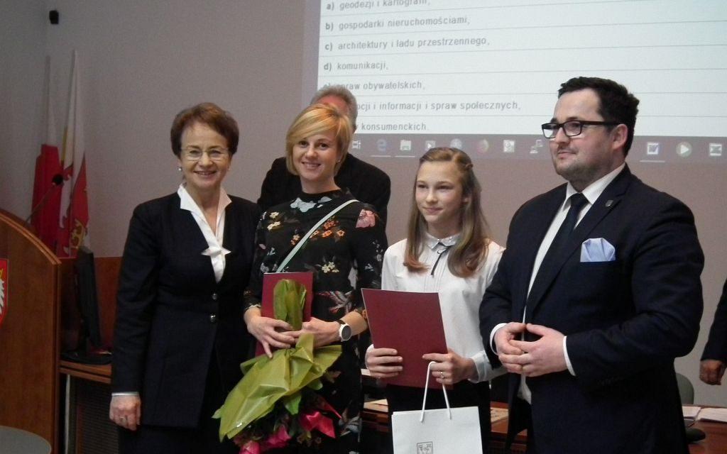 Sportowe wyróżnienie dla Emilki Michalik!